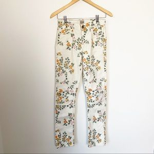 Citizens of Humanity Mandy Floral High Rise Jeans